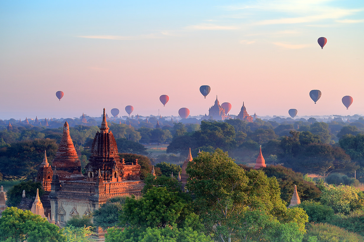 Bagan is as gorgeous as a fairy tale land