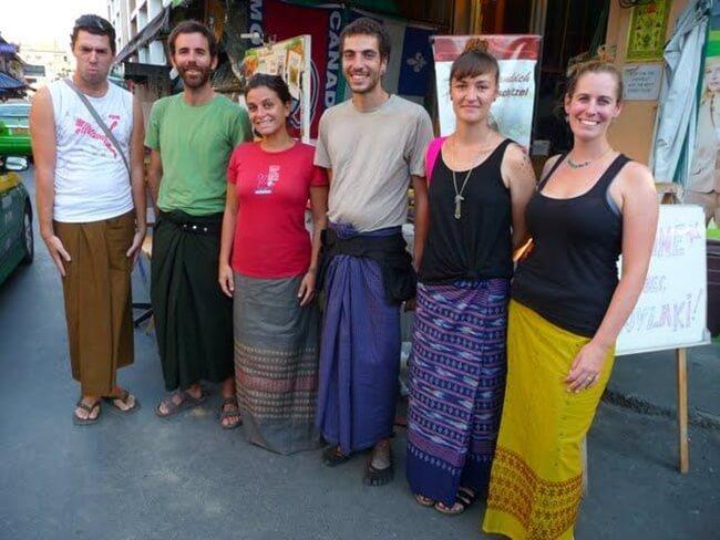 Longyi-Burmese traditional dress