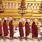 Shwezigon Pagoda Festival in Bagan
