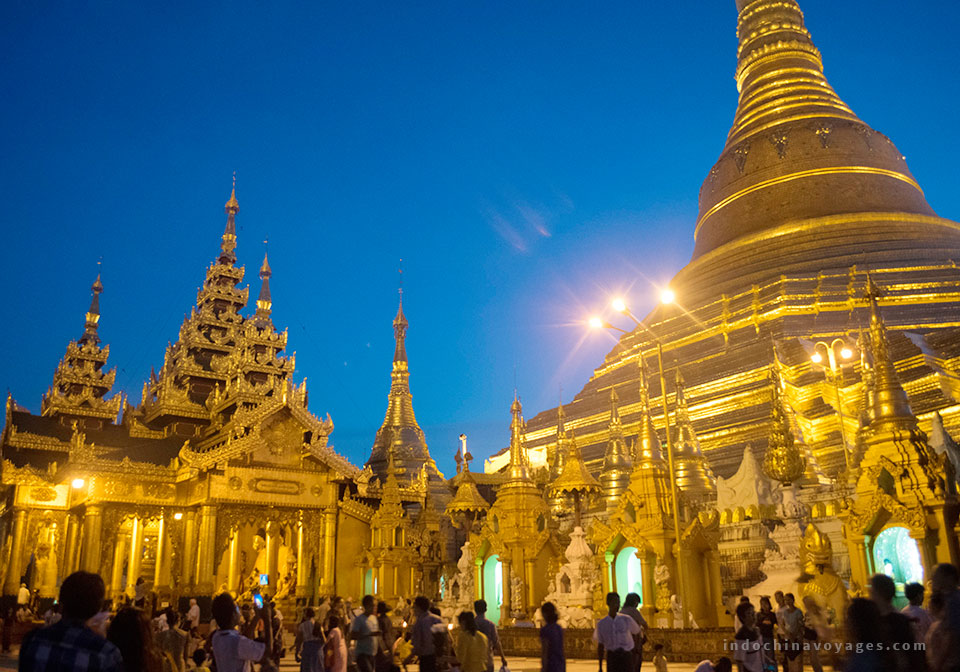 Shwedagon Pagoda is Myanmar's top sites for Buddhist pilgrims